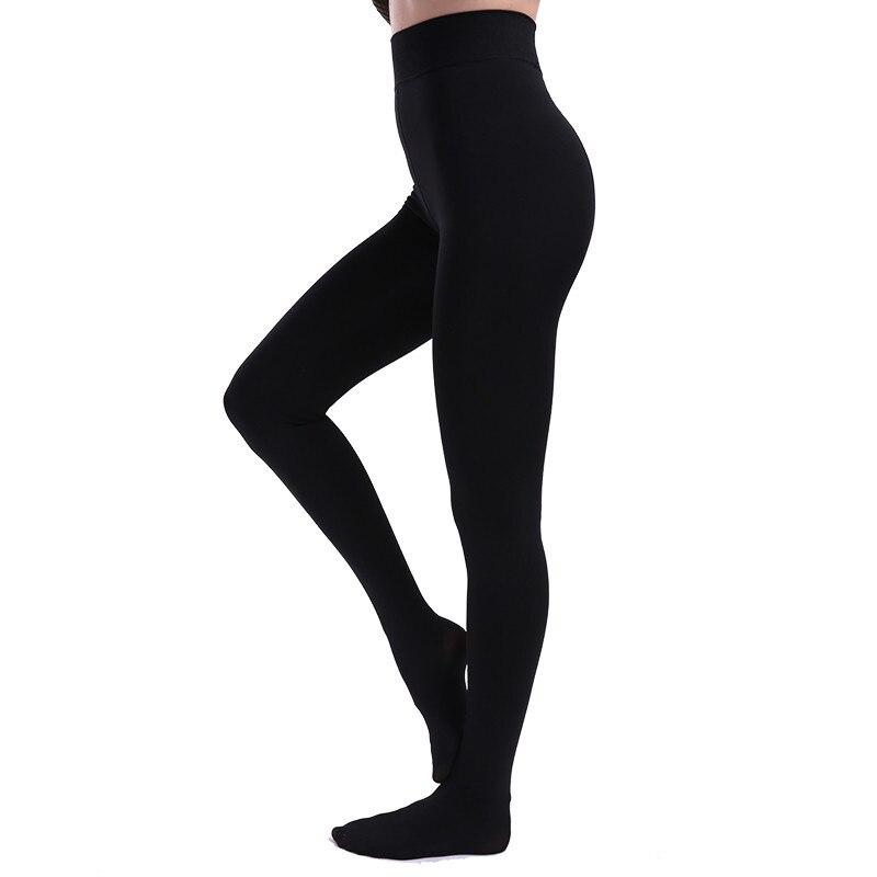 NORMOV Warm Leggings Women High Waist Thick Jeggings Plus Velvet High Elastic Pantalon Femme Stretch Leggings Female