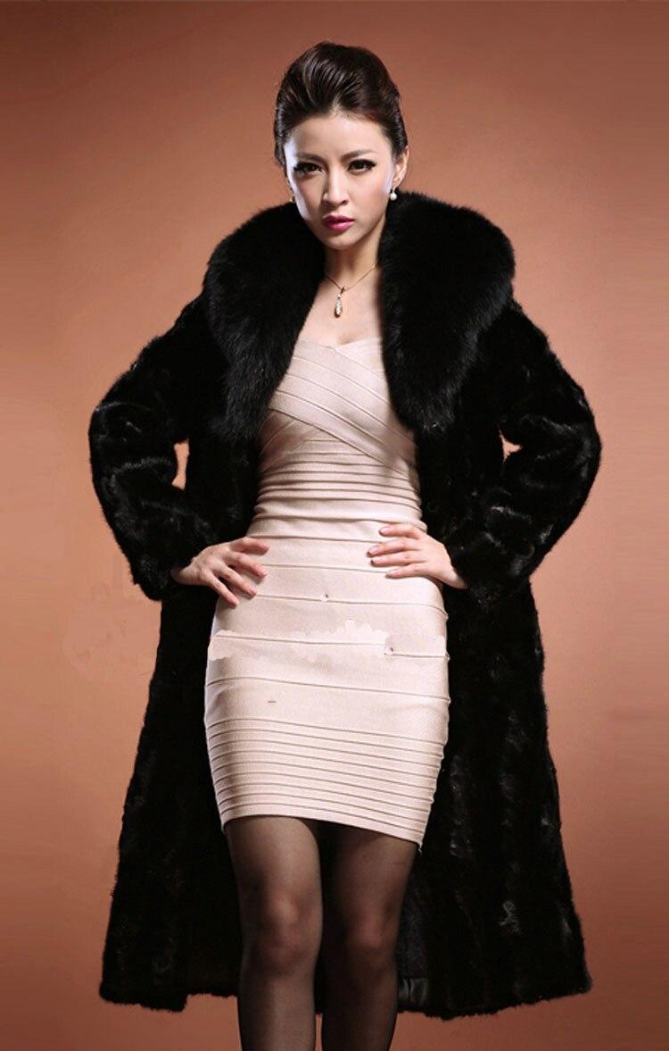 Online Get Cheap Black Mink Fur Coats Women -Aliexpress.com ...