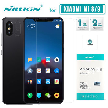 Nillkin Xiaomi Mi 9 Mi9 Mi8 Mi 8 Glass H+ Pro Tempered Glass Screen Protector Xiaomi Mi 9 Mi5 Mi 6 Mi6 Prime Mi8 SE Nilkin Glass