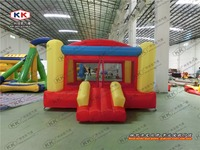 New Design Inflatable Bouncer For Kids Inflatable Colorful Jumping House For Kids 0 55 Mm PVC
