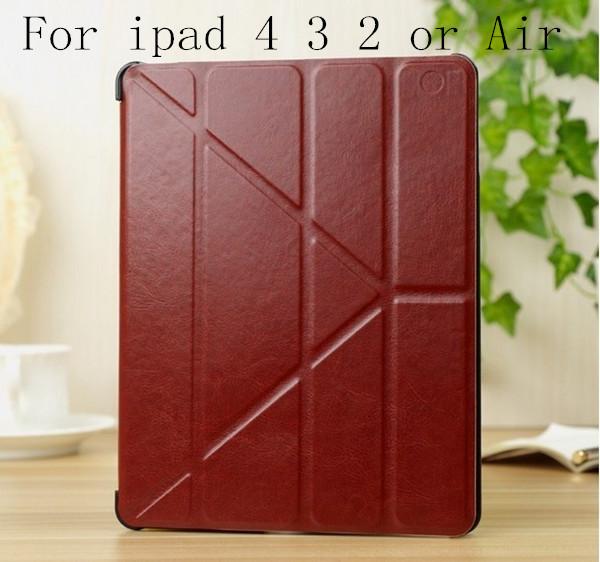 Case for ipad4 ipad3 ipad 2 Smart Cover Utrathin Fashion