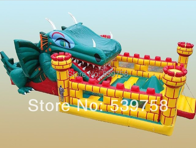 Guangdong manufacturers selling inflatable trampoline, inflatable slides, inflatable castle, tramp sun trampoline 12