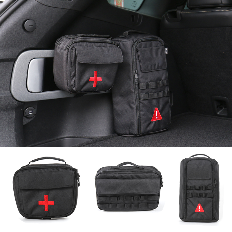 SHINEKA Outdoor Sports Travel Camping Home Tool Kit Storage Bags For Jeep Wrangler/Cherokee Car Styling