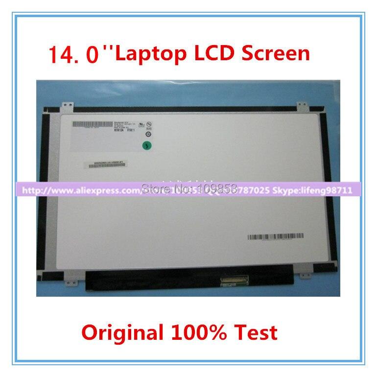 14.0 mince écran LED ltn140at28 b140xtn02.3 lp140wh2 ltn140at20 n140b6-l06 b140xw02 v1 b140xw03 v.0 ltn140at08 MATRICE D'AFFICHAGE à CRISTAUX LIQUIDES