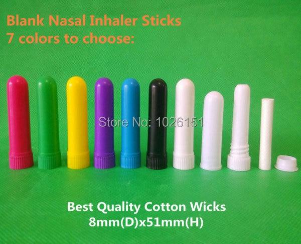 7 colors blank nasal inhaler sticks with high quality cotton wicks_.jpg