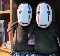 Original Miyazaki Hayao Ghibli Totoro Spirited Away No Face Man Cute Soft Stuffed Plush Toy Doll Birthday Gift Collection