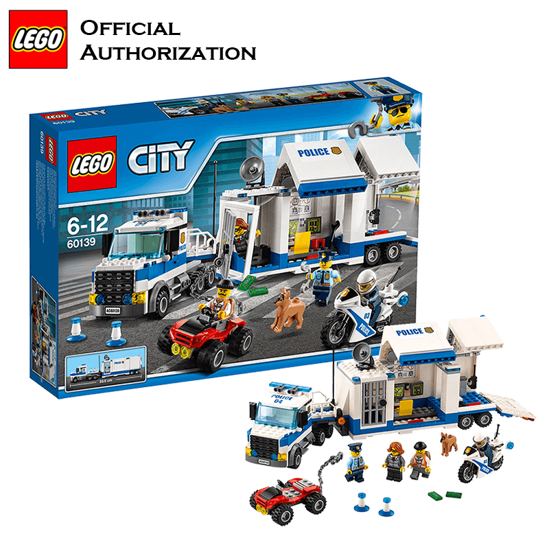 Building Blocks Police Control Center lego Toy City Series Building Police Toy Blocks Lego Free Building For Christmas 2017 new building blocks car toy juniors series compatible lego building educational easy to build blocks lego gift toy