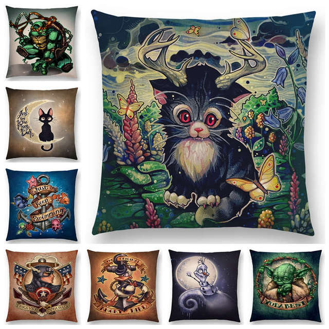 amusing home computer. Hot Sale Cool Amusing Computer Game Film Cartoon Protagonist Funny Things Fantasy Monsters Cushion Cover Sofa Home