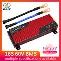 60V Li-Ion BMS 16S 80A/100A/200A Защитная плата PCM с балансом для электрического автомобиля EBike скутер солнечная для литиевой батареи