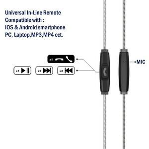 Image 5 - TENNMAK Pro podwójne sterowniki profesjonalne słuchawki douszne sportowe MMCX Vs SE215 SE535     wersja 2020