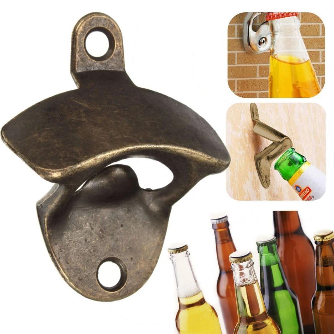 Bronze Metal Opener Open Here Wall Mounted Beer Bottle Opener Soda Gq Bottle Opener Beer Bottle Openermetal Opener Aliexpress