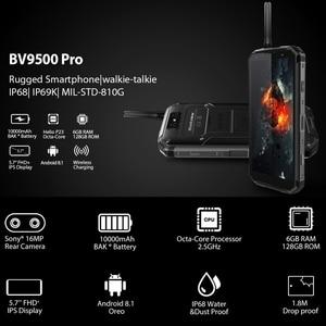 Image 5 - Blackview BV9500 Pro 6 GB 128 GB telefon komórkowy 5.7 cal z systemem Android 8.1 bezprzewodowe ładowanie smartfon dual sim Octa Core 16MP 13MP LTE 4G