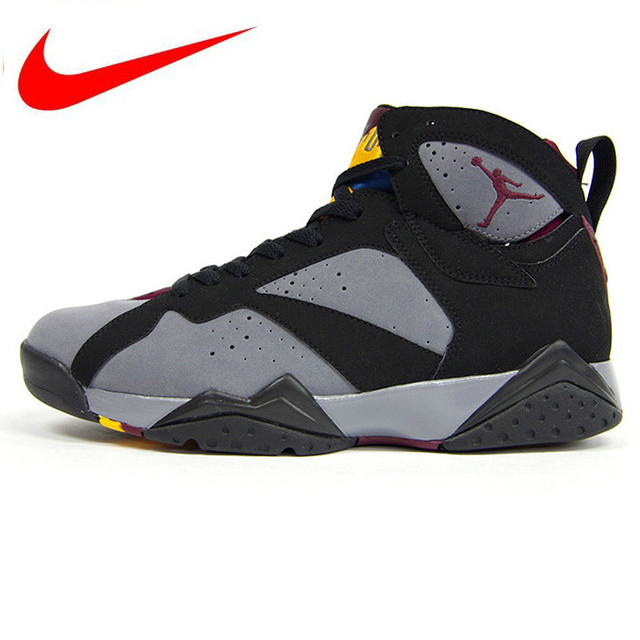 c6f8428a8bb7 Original Nike Air Jordan 7 Bordeaux AJ7 Bordeaux Women s Basketball Shoes  Sneakers