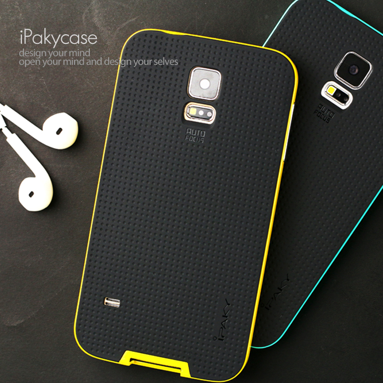 meet 3e7dc 768a9 US $6.83 |Ipaky New Brand Dual Layer Neo Armor Case for Samsung Galaxy S5  Fashion Hybrid Slim Back Cover Phone Conque for Samsung S5-in Fitted Cases  ...
