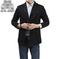 100% Nature Cotton Blazer Men Slim Fit Original Brand NianJeep New 2018 Spring and Autumn Casual Mens Jacket Size 4xl Blazers