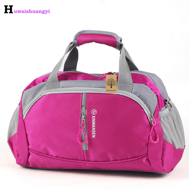 2017 New Unisex Waterproof Gym Bag Big Capacity Fitness Men Training Shoulder Bag Traveling Sports Bag For Women Luggage Pack