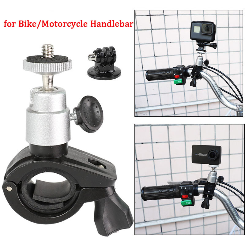 Roll Bar Mount Cam Bar Mount Holder For Bike Bicycle Multi-Angle For DJI Osmo Action Sony Xiaomi Yi 4K Action Camera Accessories