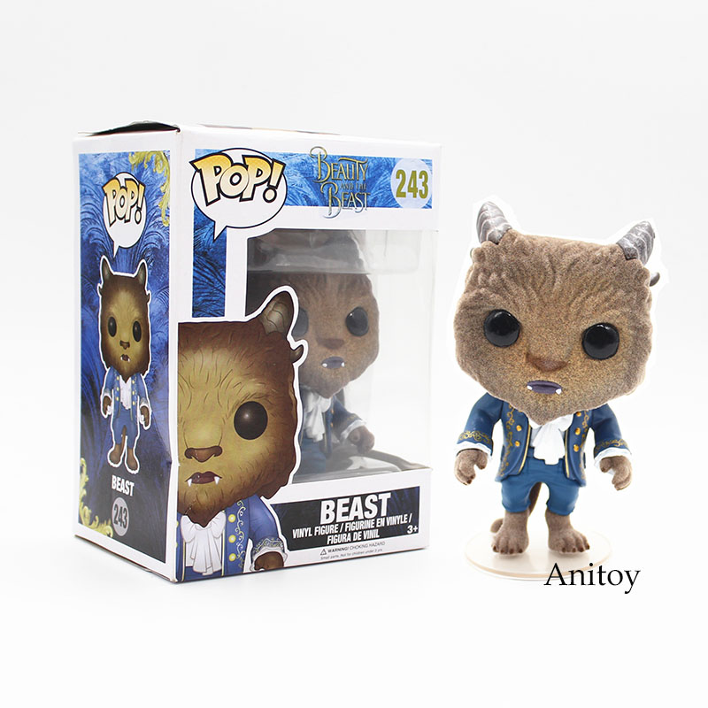 Funko POP Movies The Beast #243 Model Doll PVC Action Figure Collectible Model Toy 12cm KT3879  the flash funko pop the flash pvc action figure collectible model toy christmas gift