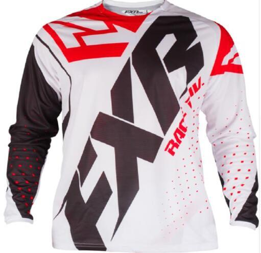 FXR BMX Off-Road Long Sleeve Moto GP Racing Jersey 3