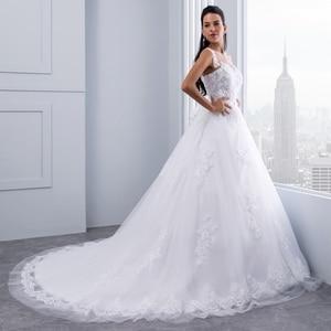 Image 3 - Miaoduo бальное платье, свадебные платья 2020, женское свадебное платье с кристаллами и поясом, свадебное платье, новинка