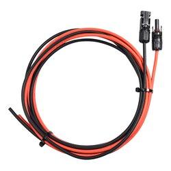 Conector preto vermelho 13awg do cabo de extensão mc4 do painel solar de boguang 0.5 m/1 m/2 m/5 m/10 m/20 m conector do painel solar
