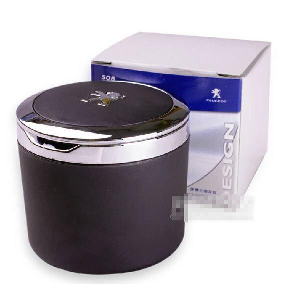 De haute qualité D'origine Portable Véhicule Cendrier De Voiture Tabac Spéciaux Pour 2008 3008 301 206 207 308 408 508 Avec Peugeott
