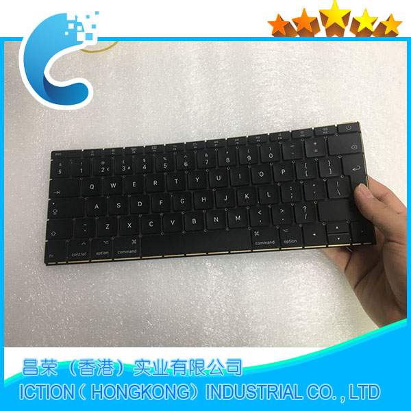 купить Genuine New Laptop A1708 UK Keyboard for Macbook Pro 13.3
