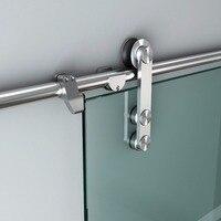 Stainless Steel Glass Sliding Door Hardware Interior Slide Door Set