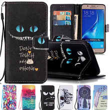 Здесь можно купить  J510F For Cqoue Samsung Galaxy J5 2016 Case Flip Leather + Silicone Phone Case For Samsung Galaxy J5 2016 Capas Wallet Holder