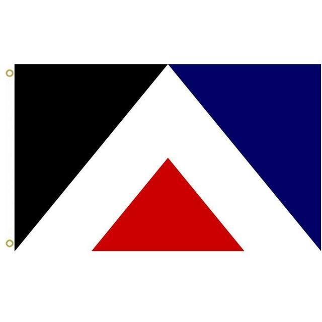 US $6 5 |NZ flag design Red Peak by Aaron Dustin Red Peak Simplified  geometric elements based on Taniko pattern representing land Pic rou-in  Flags,