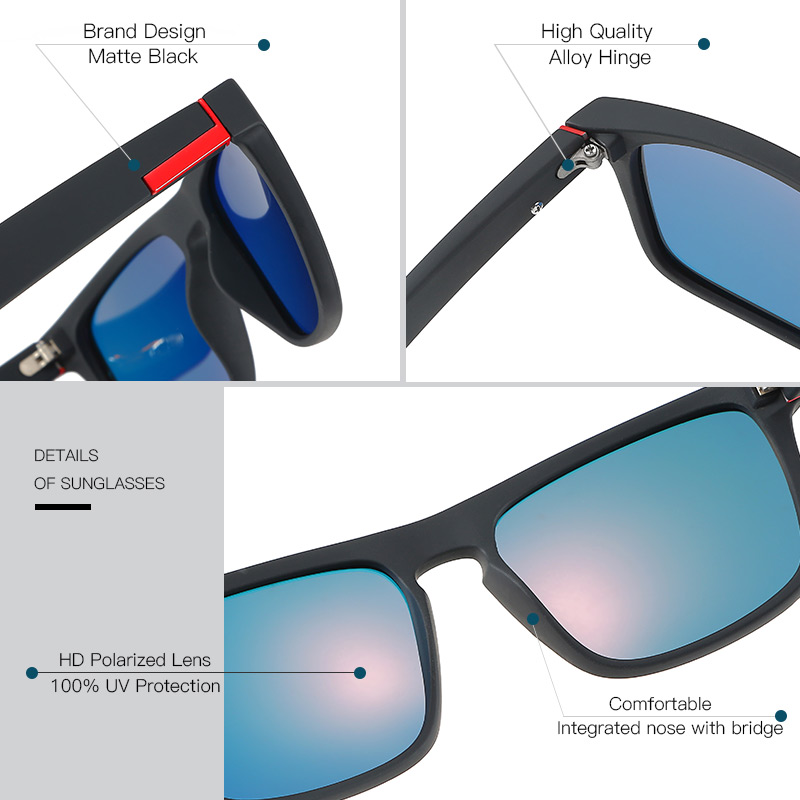 Mirror Brand Designer Sun Glass