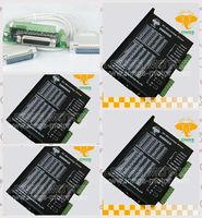Stepper motor driver digital controller 4PCS DM860A peak 7.8A 256 micsteps 24VDC~80VDC CNC Router LONGS MOTOR