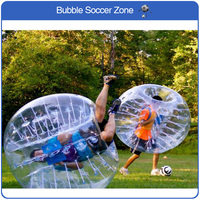 Free Shipping Amazing 1.5m Inflatable Human Hamster Ball Inflatable Bumper Ball Bubble Football Bubble Ball Soccer