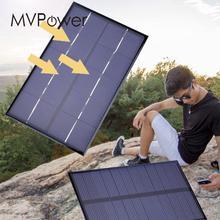 MVpower 1 9W 5V Polycrystalline Solar Panels Small Diy Solar Power 3 6V Battery Charger Solar