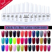 Belen 15ML UV/LED Gel Nail Polish Gel Varnish Rendam dari Vernis Semi Permanant Uv Gellak 241 Warna gel Lak Base Top Kuku Gel Polandia(China)