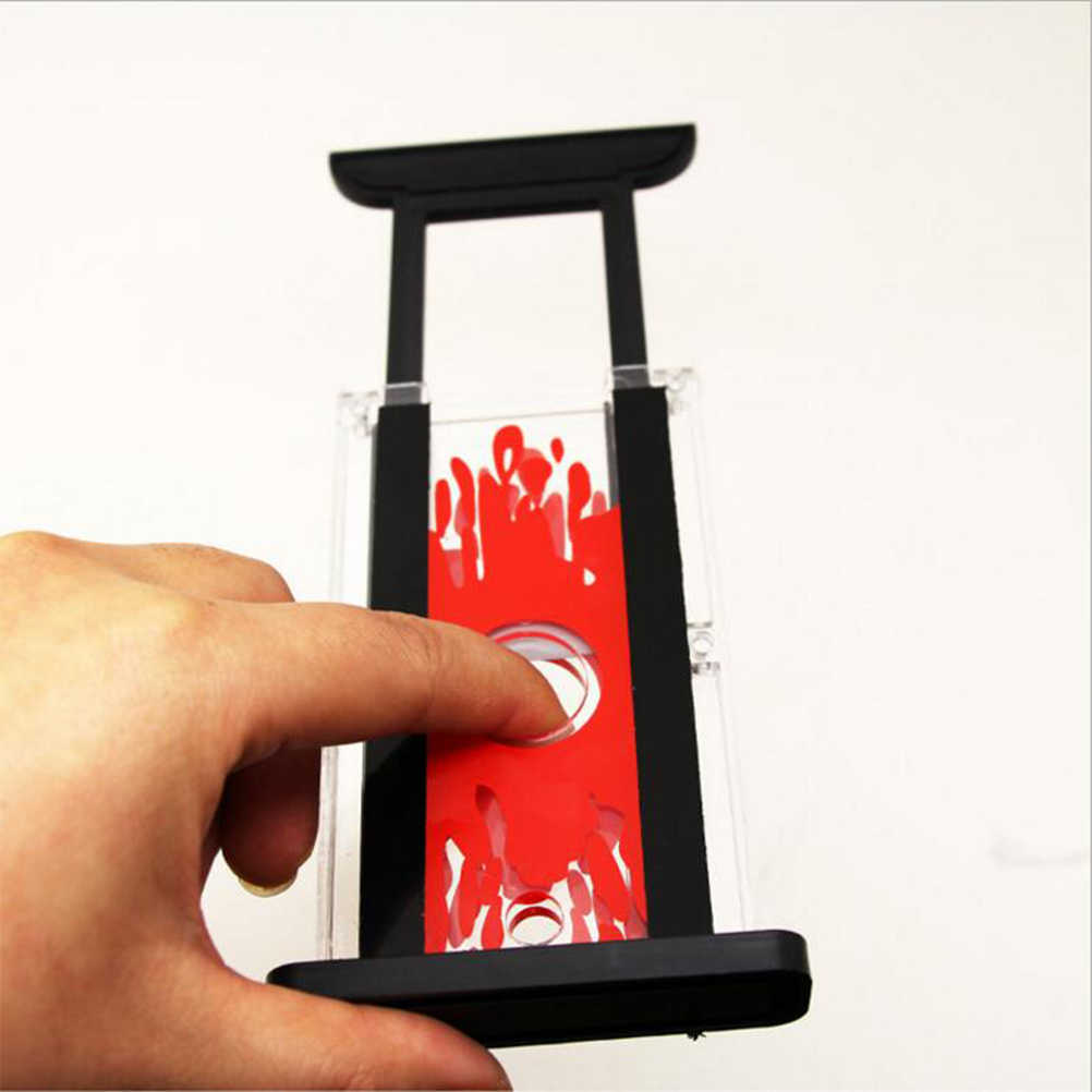 1Pcs Magic Trick Toy Props Finger Cutter Chopper Guillotine Magic Finger Hay Cutter Tool Fun Games Gift Tricks Kids Toy