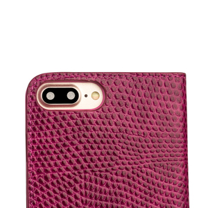 Image 5 - QIALINO for iphone 7 Genuine Leather Case for iphone 7 Plus Real Leather Luxury Women Crocodile Cover for 4.7/5.5 inches