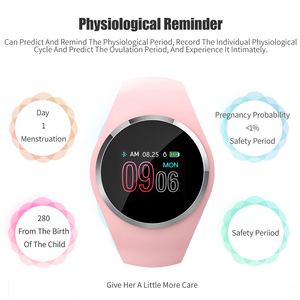 Image 2 - SCOMAS Upgraded Fashion Smart Watch Heart Rate Blood Pressure Monitor Women Physiological Reminder Smartwatch For Android IOS