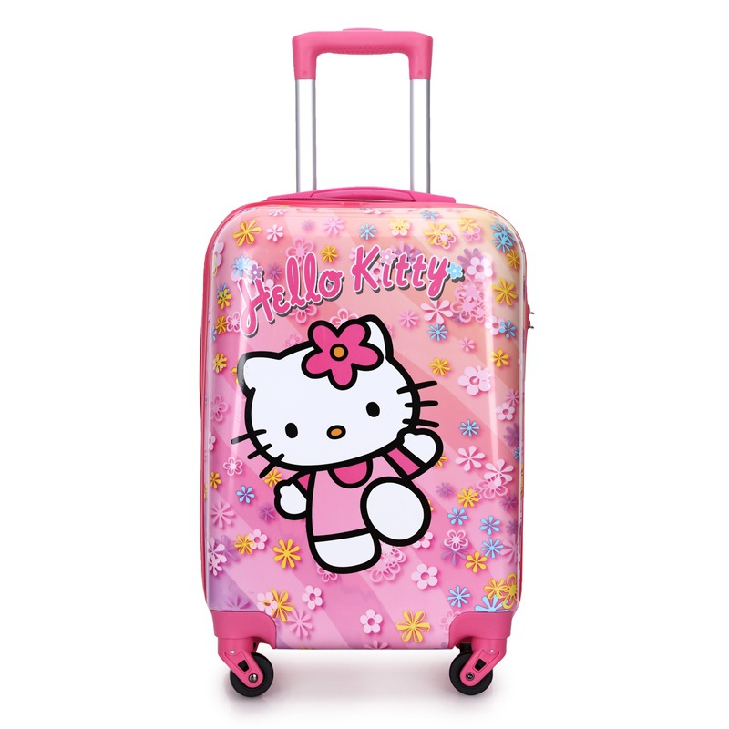 New Children's Cartoon Trolley Luggage Printed Travel Luggage 20