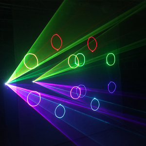 Image 5 - Alien 500 Mw 1W Rgb Full Color Animatie Laser Projector Dmx Beam Scanner Dj Disco Party Holiday Bar Xmas podium Verlichting Effect