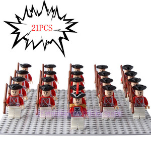 Image 3 - LegoING 軍海兵隊 Minifigured 帝国ロイヤルガード銃プレイモービルビルディングブロック子供のギフトのおもちゃ