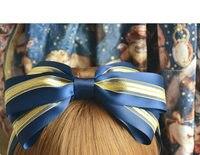 Princesa dulce lolita Lolita de color brillante Arco de La Cinta Diadema Hairbands aro de hilo de oro KC en color Multicolor entrada MHTSP028