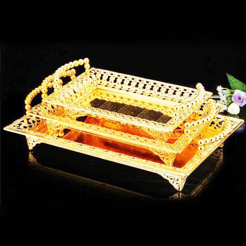 Elegant Plates Gold Dessert Fruit Cupcake Cake Stand Plate Fruits Tray Pallet Decoration Wedding Party Dishes & Plates 0102Elegant Plates Gold Dessert Fruit Cupcake Cake Stand Plate Fruits Tray Pallet Decoration Wedding Party Dishes & Plates 0102