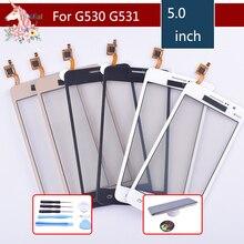 三星銀河グランドプライム G531F SM G531F G530H G530 G531 G530 G5308 タッチスクリーンセンサーディスプレイタッチスクリーンデジタイザガラスの交換