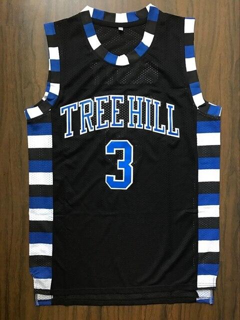 4c19d0a5 EJ One Tree Hill Ravens Lucas Scott #3 Movie Basketball Jersey BLACK-in  Basketball Jerseys from Sports & Entertainment on Aliexpress.com | Alibaba  ...