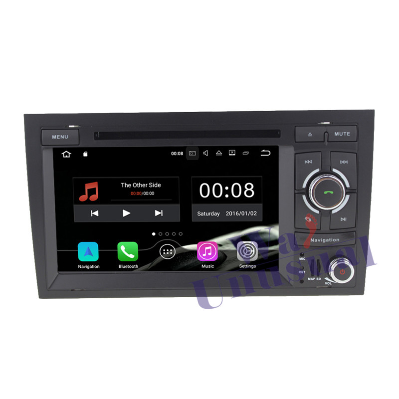 "7""Android 7.1 GPS Navigation For Audi A4 2002 2003 2004"