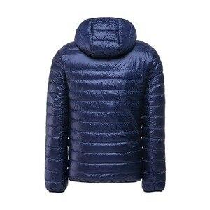 Image 2 - NewBang Plus 11XL 10XL 9XL 8XL Down Coat Male Ultra Light Down Jacket Men Windbreaker Feather Lightweigt Hooded Winter Parka