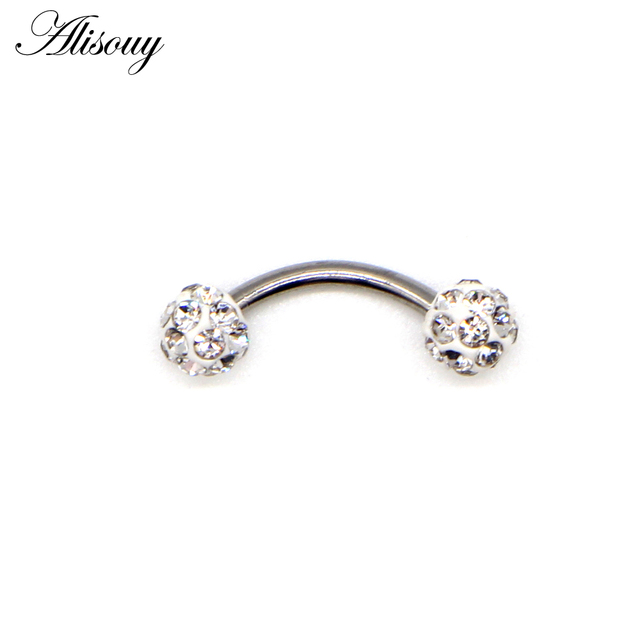 Alisouy 1pc Surgical Steel...
