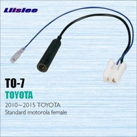Car Radio Antenna Adapter Cable Wire For Toyota 2010 2012 Aftermarket Stereo CD DVD GPS Installation