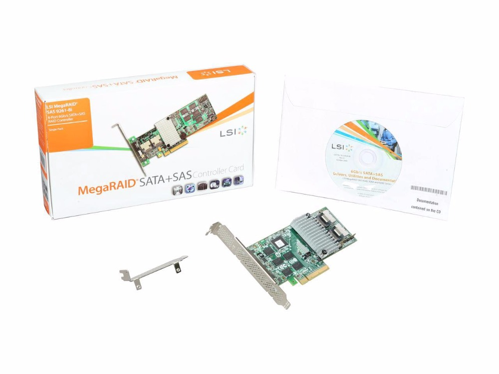 LSI MegaRAID 9271-8i pci-e 3 0 8-Порты и разъёмы 6 Гбит sata/SAS RAID 1 ГБ